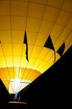 Resplandor amarillo del impulso Imagen de archivo