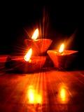 Resplandor de Diwali Fotografía de archivo