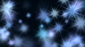 Resplandor de estrellas en espacio galáctico