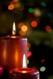 Resplandor de la Navidad Imagenes de archivo