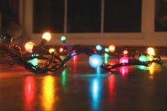 Resplandor de la Navidad Foto de archivo libre de regalías
