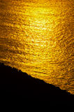 Resplandor de la salida del sol del océano Fotos de archivo libres de regalías