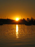 resplandor del Amplio-agua Foto de archivo libre de regalías