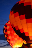 Resplandor del globo Foto de archivo libre de regalías