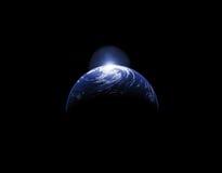Resplandor del planeta Imágenes de archivo libres de regalías