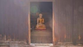 Resplandor del sol de Buda Fotos de archivo