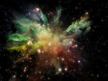 Resplandor del universo Fotografía de archivo libre de regalías