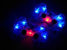 Resplandor en el palillo oscuro del juego Foto de archivo libre de regalías
