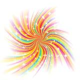 Resplandor hermoso, vector ilustración del vector