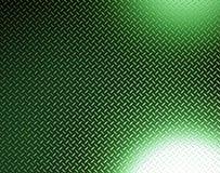 Resplandor metálico verde Foto de archivo libre de regalías