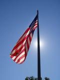 Resplandor patriótico Foto de archivo