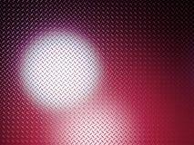 Resplandor rojo de la placa del diamante Imágenes de archivo libres de regalías
