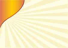 Resplandor solar Foto de archivo