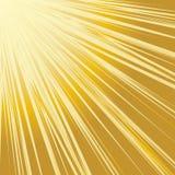 Resplandor solar anaranjado summer.VECTOR. stock de ilustración