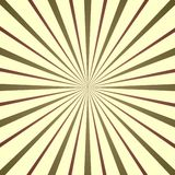 Resplandor solar colorido, ejemplo retro del estilo imágenes de archivo libres de regalías