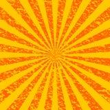 Resplandor solar de Grunge [1] Imagen de archivo libre de regalías