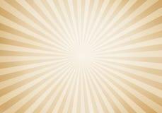 Resplandor solar retro del estilo y fondo cómico de la historieta de los rayos Grunge abstracto del vintage con luz del sol ilustración del vector