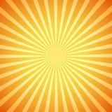 Resplandor solar retro del vector Fotografía de archivo