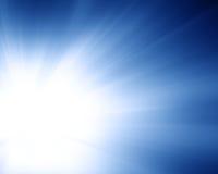 Resplandor suavemente azul Foto de archivo libre de regalías
