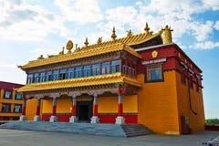 Resplendent i wspaniała świątynia Fotografia Royalty Free