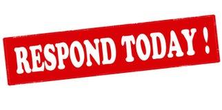 Respond today Stock Photos