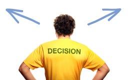 Responsável pelas decisões Imagens de Stock Royalty Free