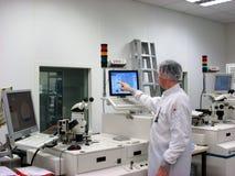 Responsabile della stazione di misurazione Fotografia Stock Libera da Diritti
