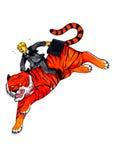 Responsabile sulla tigre (2008) Immagini Stock