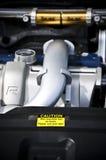 Responsabilidad del motor Foto de archivo