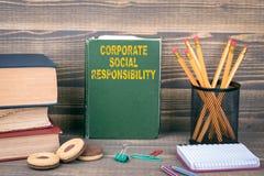 Responsabilité sociale de l'entreprise Photo stock
