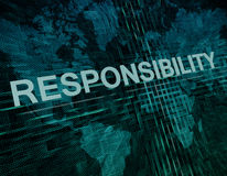 Responsibility Stock Photo