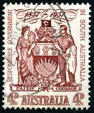 Responsible Government in South Australia Stamp Royalty Free Stock Photo