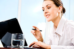 Responsible secretary Royalty Free Stock Photography