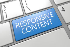 Responsive Content Royalty Free Stock Photos