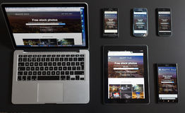 Responsive design Stock Images