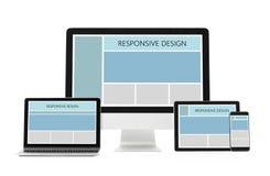 Responsive design concept vector illustration