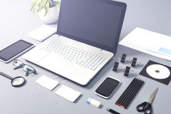 Responsive design concepts. Stock Images