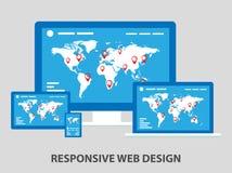 Responsive design Royalty Free Stock Image