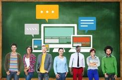 Responsive Design Internet Communication Technology Concept Stock Photo
