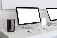 Responsive devices Stock Image