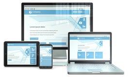 Responsive Web Design. Royalty Free Stock Photography