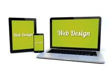 Responsive web design concept Royalty Free Stock Image