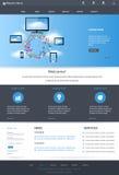 Responsive web design concept Stock Photos