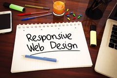 Responsive Web Design Royalty Free Stock Image