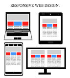 Responsive web design Stock Images
