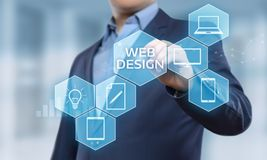 Responsive Web Desing Website Business Internet Technology Concept Stock Photo