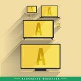 Responsive Webdesign Stock Photography
