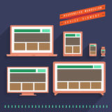 Responsive Webdesign Stock Images
