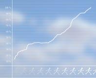 Respresentação gráfica Fotografia de Stock Royalty Free