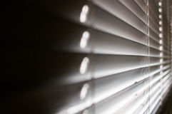 Resquicio en las persianas Foto de archivo